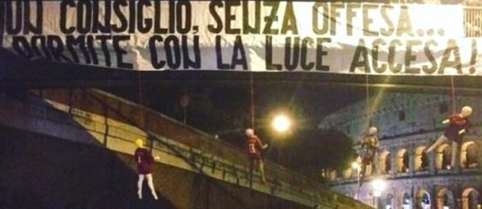 Calcio: Roma, minacce a giocatori, 4 manichini impiccati